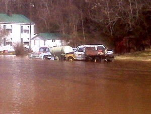 Photo By ideabuzzing : Flood Water in Gladstone in SE Nelson County, VA