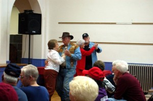 People danced to the sound of bluegrass this past Saturday at Fleetwood.
