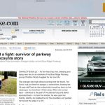 Blue Ridge Parkway Shooting Survivor Tells Story To Roanoke Times : 4.28.10