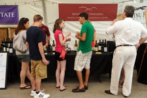 Upon the mountain Wintergreen Performing Arts held its annual Festival of Wine & Food.