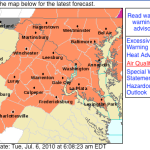 Heat Advisory From Noon Tuesday Until 11PM Wednesday : 7.6.10