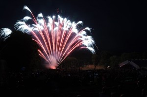 The fireworks display has been held for years and years at Wintergreen.