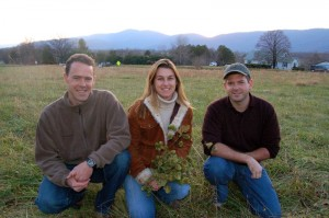 The trio posing for a picture in the front lawn of what would eventually become BMB back in December 2006.