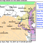 Nelson & Wintergreen : Fire Weather Watch : UPGRADED TO WARNING