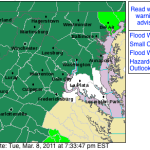 Wintergreen & Nelson : Flood Watch Continues Wed Evening To Thurs Evening