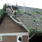 Ouch! Storms Cause Tree To Fall On House