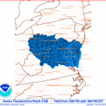 Wintergreen & Nelson : Severe Thunderstorm Watch - ! CANCELED !