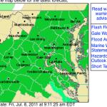 Wintergreen & Nelson : Flash Flood Watch : ! CANCELED !