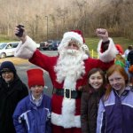 Santa Makes An Early Stop At The Nelson County Pantry
