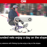 Wintergreen Adaptive Sports : Wounded Warriors Get Nice Story on CNN : Video