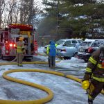 BREAKING: Firemen Battle Blaze At Laurelwood Condo Unit : Wintergreen Resort