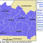 Amherst, Buckingham, Rockbridge, Appomattox & Points South : WINTER WEATHER ADVISORY