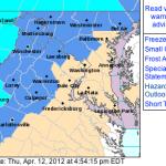 Frost Advisory Into Friday Mid-Morning : CANCELED