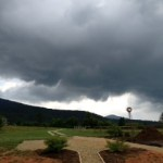 Severe Weather Visits Nelson - But Nothing Terribly Bad
