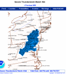 Nelson & Wintergreen : Severe Thunderstorm Watch : CANCELLED