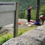 Blue Ridge Parkway: Wintergreen & Montebello Rope Teams Assist Park Service At 20 Minute Cliff