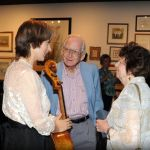 Augusta: Former Nelson Cellist Tanya Anisimova Makes Appearance At P. Buckley Moss Museum