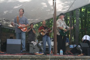 Nelson county favorites, Fatty Lumpkin and the Love Hogs at the recently held Summer Blues and Brews Festival in Staunton, VA.