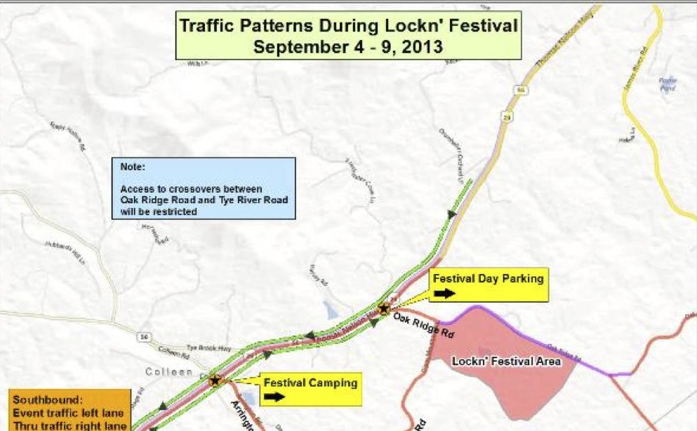Nelson : Motorists On Route 29 Urged To Plan Ahead For Congestion ...