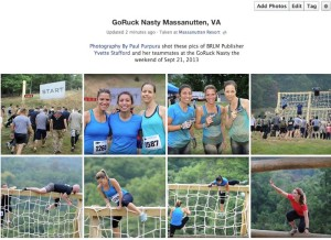 Click on the image above to see more of the shots from GoRuck Nasty at Massanutten, VA in our Facebook album.