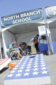 North Branch School in Afton was one of several organizations with a presence at the festival.