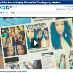 New Search for Alexis Murphy Planned for Thanksgiving Weekend : Via The NewsPlex CBS-19