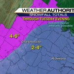 Significant Winter Weather Becoming More Likely Overnight Monday Into Tuesday