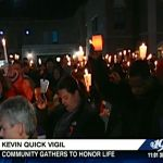 Waynesboro: Endless Sea Of People Light Candles To Remember Police Reservist Kevin Quick : Via CBS-19