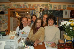 Blast from the past, Lay Pfaltz who recently bought back into the restaurant in Nellysford, is pictured with some of the crew working there back in May of 2007.