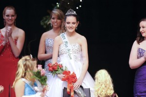 Marlena Kate Holman (13) of Nellysford was crowned  Teen Miss Nelson County Saturday night - March 29, 2014 in Lovingston.
