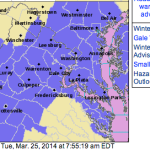 Winter Storm Warning (Amherst - South)  -  Winter Weather Advisory (Nelson - North)  : Expired / Canceled