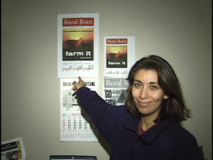 Back in December 2000, BRL Publisher Yvette Stafford stands next to the original idea for our magazine that almost launched in the mid-south.