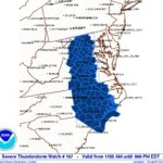 Severe Thunderstorm Watch: Until 8 PM :  ! CANCELED !