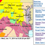 Severe Thunderstorm Watch - ! EXPIRED !