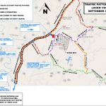 Traffic Flow Map For Lockn' Event In Nelson This Weekend