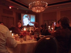 Ralph Waite (who played John Walton - the father in the series) was memorialized in a special remembrance during Saturday's reunion in Lynchburg. Learned told stories about Waite, who played her television husband.