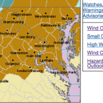 High Wind Watch Begins Saturday Evening : Gusts To 60 MPH Possible - Especially Mountains