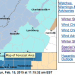 Winter Storms Watches To Begin For Southern Tier Of Counties Monday Afternoon