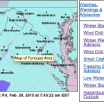 WINTER STORM WARNINGS / ADVISORIES  -  !Canceled or Expired!