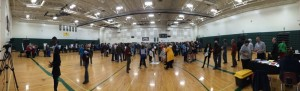 Thanks to Stuart Smith of Roseland for the photo above. : The Nelson Middle School Gym was packed Tuesday evening - March 10, 2015 during another Dominion Open House in Lovingston.
