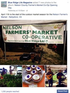 Back in Nelson our Kat Turner got the really tough assignment of making it our to the season opener of the Nelson Farmer Market Coop. #somebodyhadtodoit