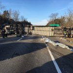 Tractor Trailer Crashes Tie Up Traffic On Area Roads