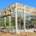 Raising The Roof On The New Blue Mountain Pavilion At RVCC