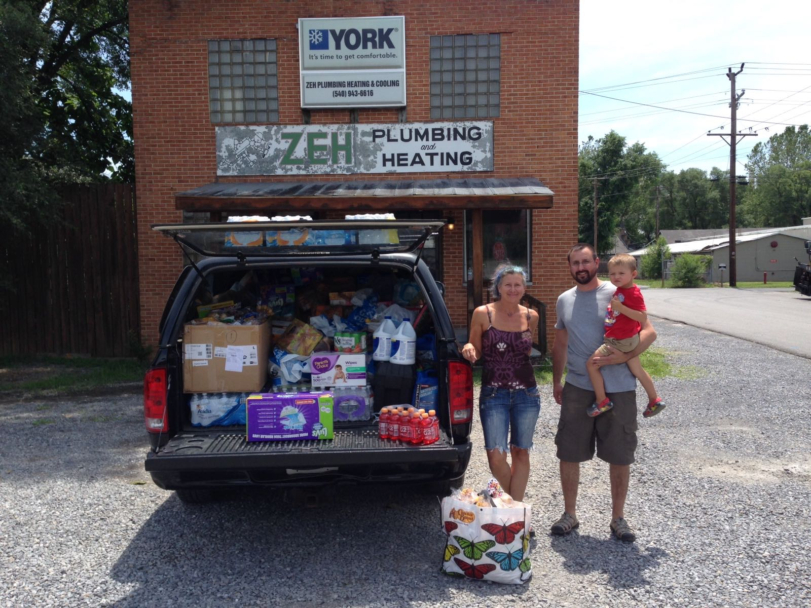 Supplies On The Way To Flooding Victims In West Virginia