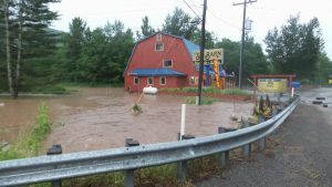 Photo courtesy of Nikki Chambers : Ski Barn has its roots deep in West Virginia. It was founded there over 25 years ago. They still have a big footprint in the state. Nikki tells us one of their main stores (shown here) was hit by the flooding as well.