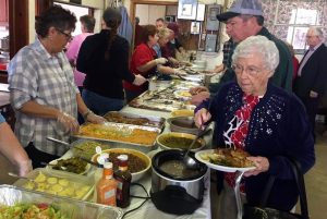 Thanks to Don Harvey for the photos! : Folks packed the Piney River Fire Department this past Saturday - February 18, 2017 for their annual Chitterling Dinner Fundraiser.