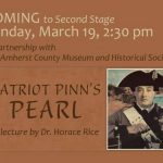 Amherst Co Museum, Second Stage & Elkwood Host Dr. Horace Rice : Presentation On Native Americans