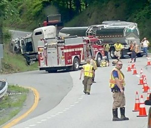 Nelson : US 29 NB Now Opened at Rockfish River Rd After Tanker Truck