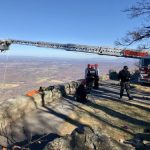 Wintergreen Fire & Rescue Conducts Training Exercise For Mountain & Cliff Rescue (Video)