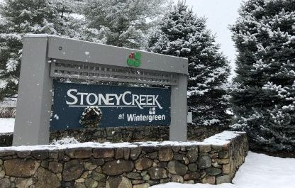 First Snow Of Season Hits Blue Ridge (Video Included)